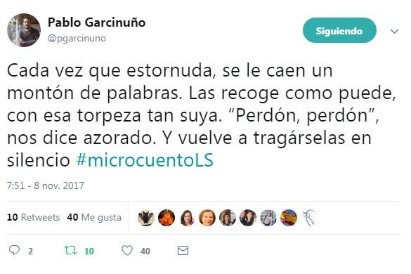 Los 280 caracteres de 'Twitter' no afectan al II Concurso de microcuentos del Festival