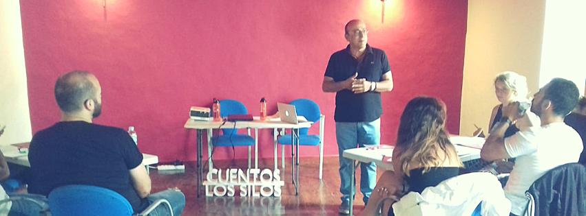 Formación para la mejora continuada del Festival Internacional del Cuento de Los Silos  @CuentosLosSilos