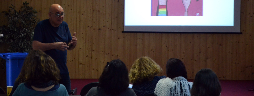 Los Silos promueve el intercambio de experiencias educativas en torno a la literatura con profesionales de prestigio