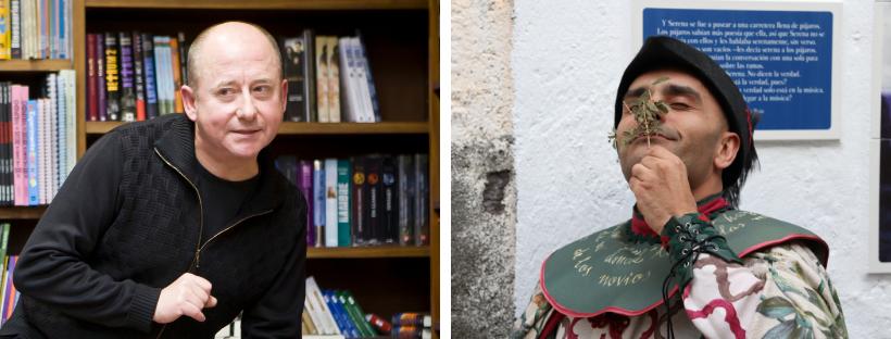 Carles García y David Orán conversan sobre los sentidos y la oralidad