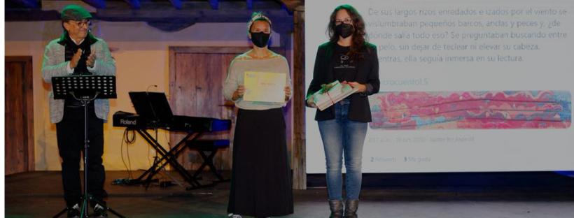 La tinerfeña Mara Arnalda gana el concurso '#MicrocuentoLS'