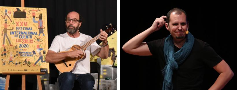 Tato Ruiz y Fabio González conversan sobre los recursos en el cuento